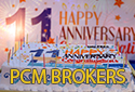 PCM Brokers Anniversary Bonus